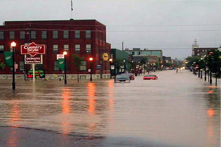 """""""Buckets of Rain: 10th Anniversary of Great Flood of Peterborough"""" by Jeannine Taylor // Tuesday, July 15 marks 10 years since 14 billion litres of rain fell on Peterborough."""