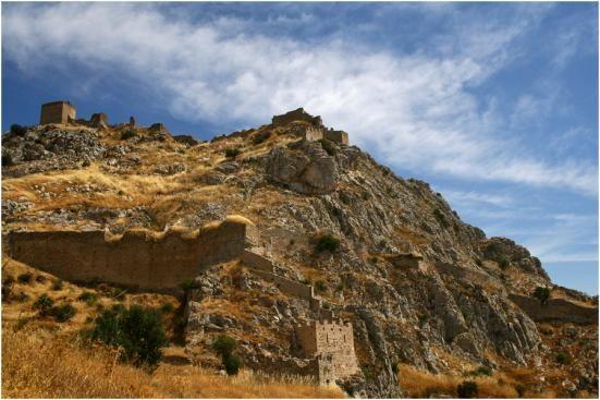 #Near #Selianitika #Achaia #Greece.Castle of Akrokorynthou