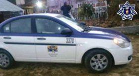 Policía estatal despliega operativo exitoso y recuperataxi robado en la mixteca