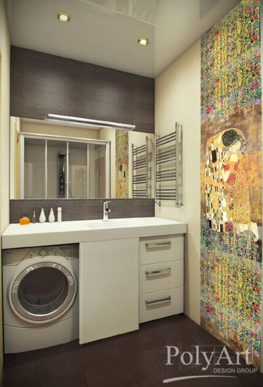 Апартаменты для летних каникул дружной семьи. Ванная