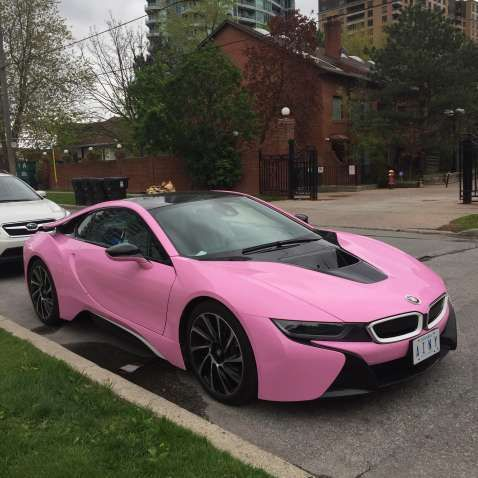 Beautiful Rose Gold Bmw I8 Best Photos For World Pinterest