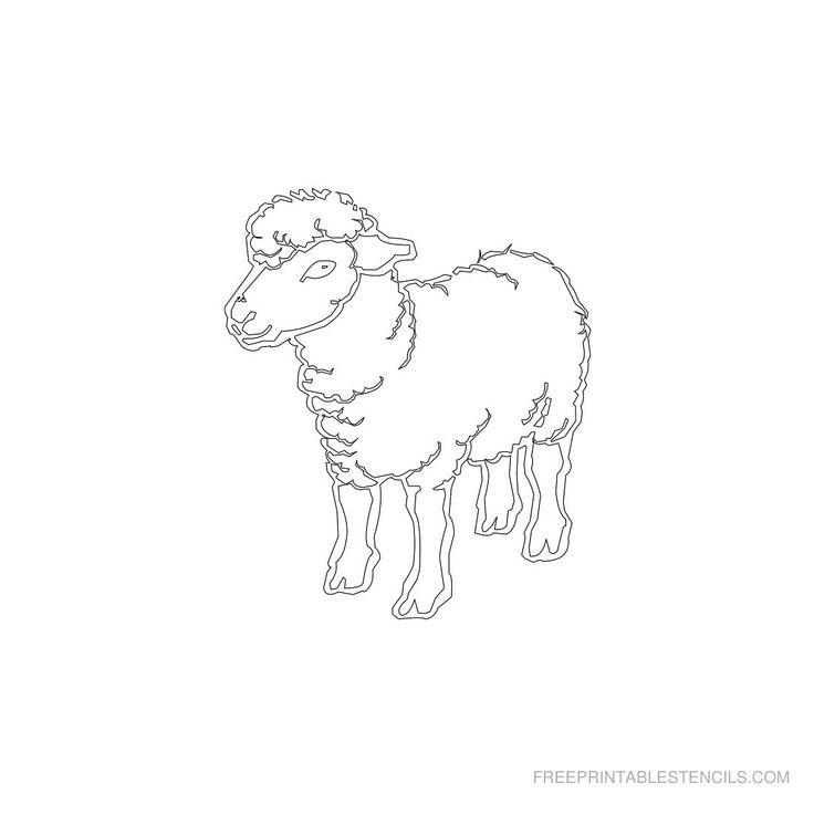 Free Printable Animal Stencil N