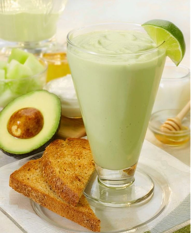 This creamy and fruity smoothie is a combination of avocado and honeydew with cream and raw honey. Serve this drink together with your snack. Avocado is a good source of fatty acids, omega 3 and 6 that help your body to maintain a healthy heart and brain. Ingredients 1 cup chopped avocado 1 cup chopped honey dew 1 tablespoons raw honey 1/2 teaspoon lime juice 1/2 cup all-purpose cream 1/4 cup milk Ice cubes Procedure * In a blender combines all ingredients. Mix and blend well ...