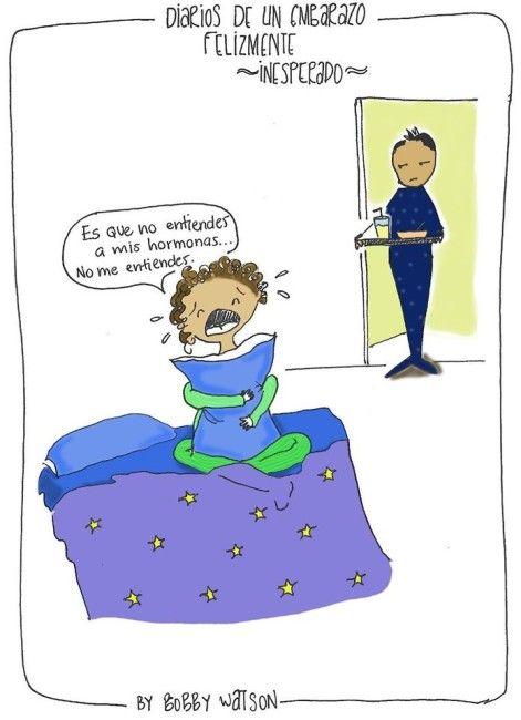 Caricaturas sobre la maternidad he publicado muchas, pero al ver losdiarios de un embarazo inesperado me abrió un nuevo panorama aún más divertido, ese cambio físico y emocional por el que pasamos durante el embarazo puede ser una de las experiencias más locas y fascinantes por las que he pasado en mi vida.