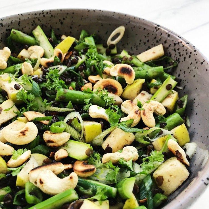 Salat med linser