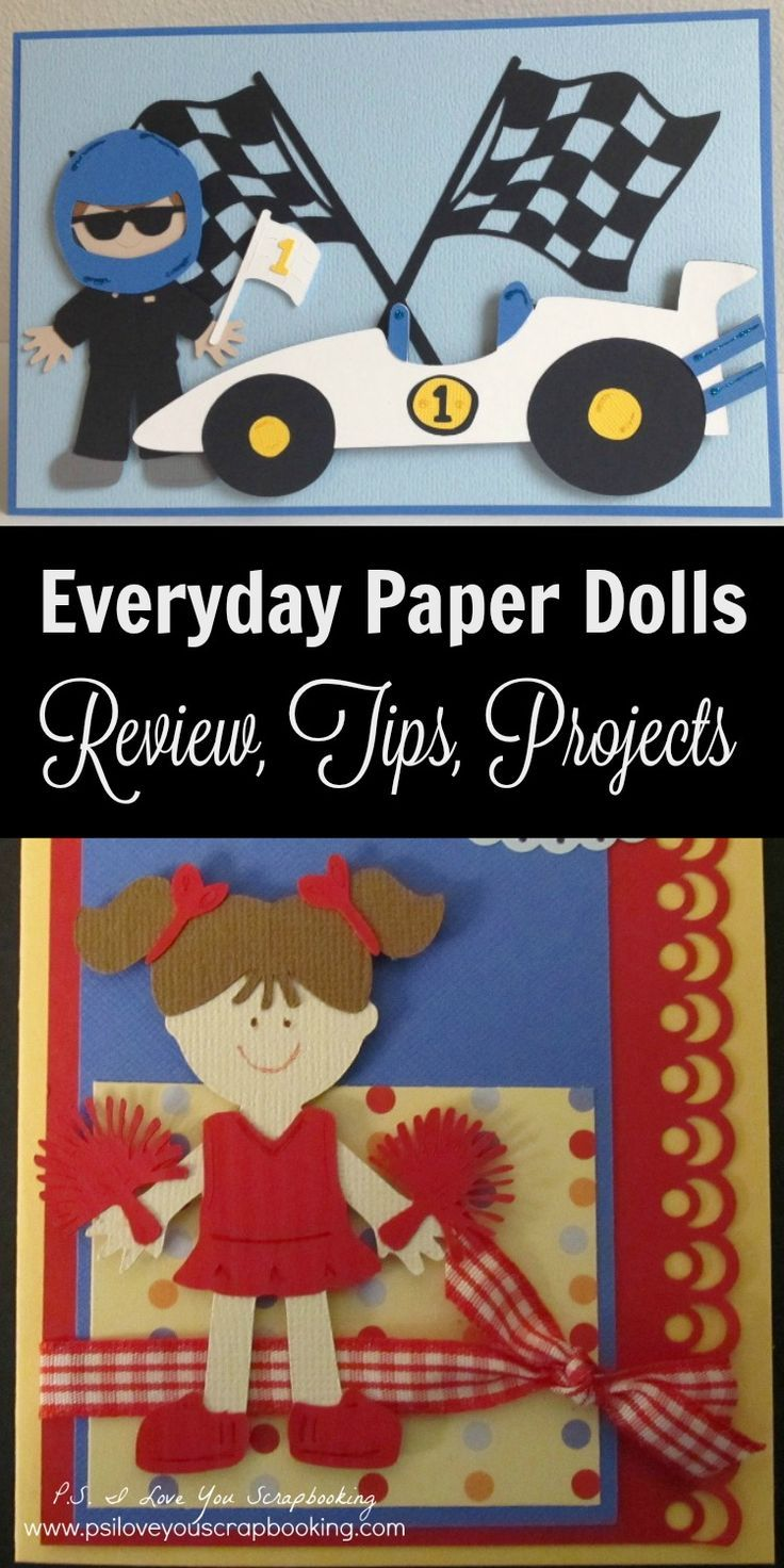 Everyday Paper Dolls Cricut Cartridge Review