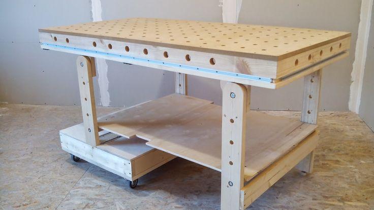 Folding workbench for workshop   Хороший рабочий стол (верстак) - основа мастерской    Для плодотворной работы обязан быть хороший рабоч...