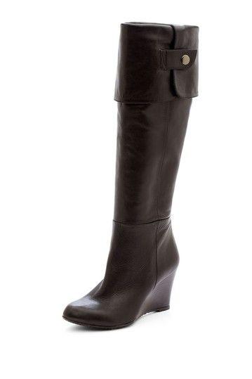 Adrienne Vittadini Mac Wedge Boot by Boot Bazaar on @HauteLook