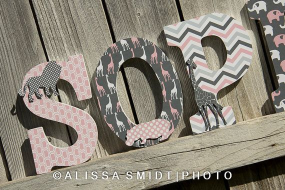 Hey, I found this really awesome Etsy listing at https://www.etsy.com/listing/167072659/custom-nursery-wooden-letters-baby-girl