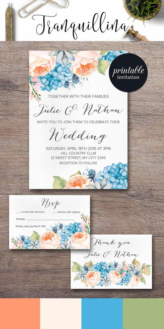 96 best Invitation cards images – Spring or Summer Theme Invitation Cards