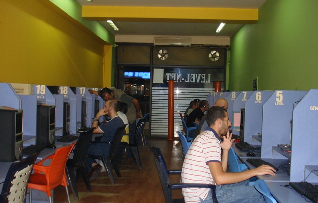 Internet cafe interior design 2012 for Internet cafe interior designs