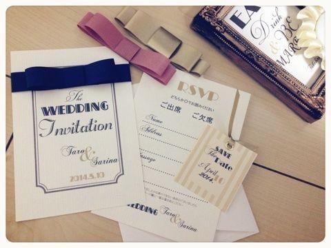 newペーパーitemとご縁。 の画像|saanaaeのブログ(sail wedding paper design)