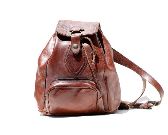 A 17 legjobb ötlet a következőről: Brown Leather Backpack a ...