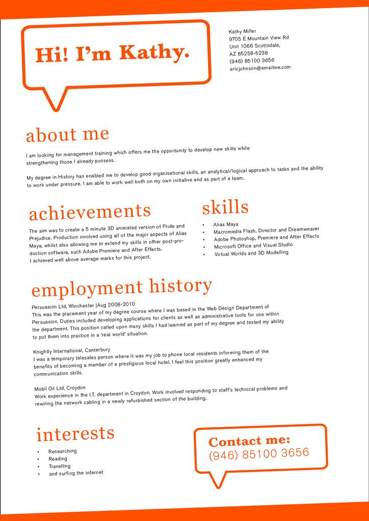 156 best Custom CV templates images on Pinterest Resume