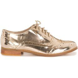 Derbies en simili cuir effet miroir MONOPRIX FEMME - Derbies, mocassins