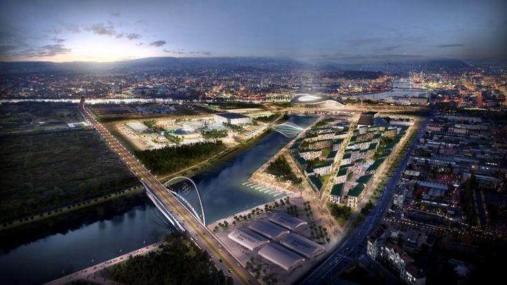 Budapest 2024 látványtervek