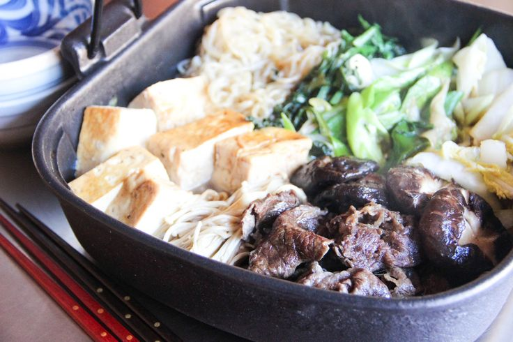 <p>Sukiyaki is one of the most popular hot pot dishes in Japan.  It has a sweet and salty flavor a little bit like teriyaki sauce, but with beef and vegetable in the mix, it has its own Sukiyaki taste people love so much.   We usually cook Sukiyaki in a …</p>