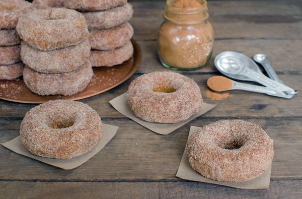Baked Pumpkin Doughnuts | Rețetă | Dovlecei, Gogoși și Toamnă