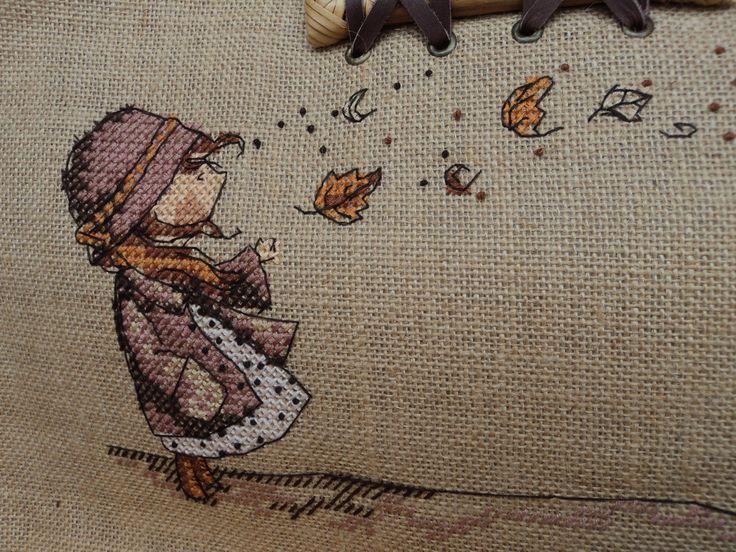 Detalle Chica del Otoño/ Autumn Girl Neocraft