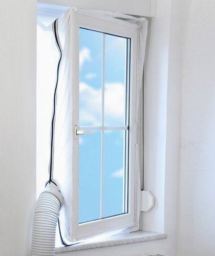 Šikovné těsnění do okna pro účinnější a ekonomičtější chlazení mobilní klimatizací. AirLock 100 chrání před horkem i komáry. Nainstalujete ho do 5 minut!