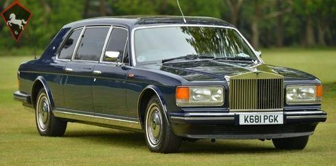 Rolls-Royce Silver Spur III Mulliner Touring Limousine 1993 Sedan For sale - ClassicDigest
