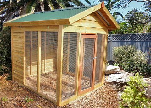 Aarons Outdoor Living - Chook House, $1,050 (http://www.aaronsoutdoor.com.au/pet-houses/chook-house/)