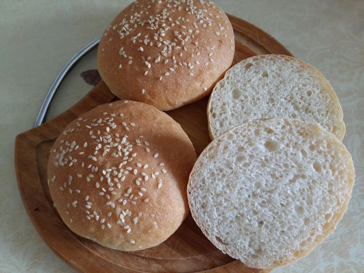 Домашние булочки для гамбургеров - рецепт с фото