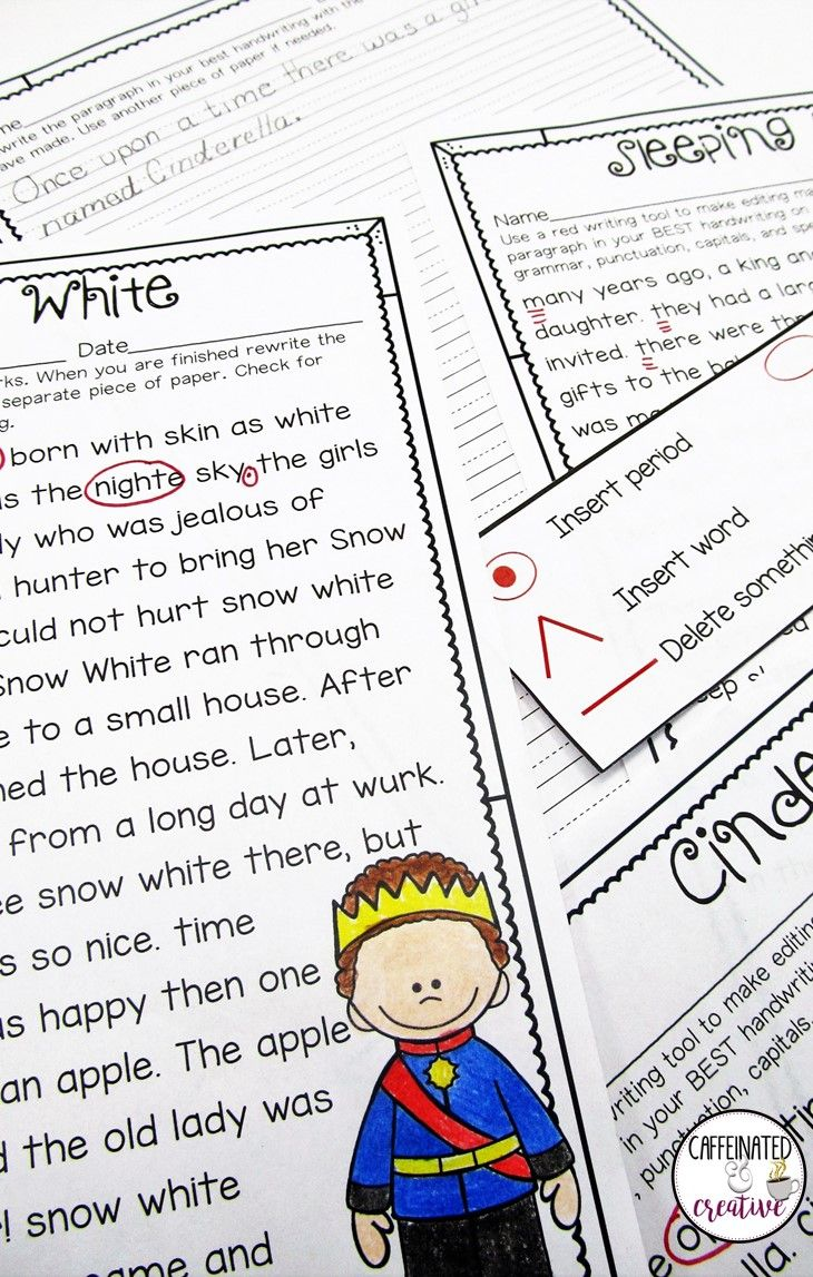 17 best ideas about editing marks writing princess proofreading activity is a fun resource where students will be able to convey their knowledge of editing marks punctuation spelling and