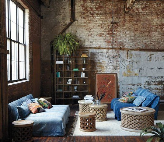 Look We Love: Industrial Bohemian | Apartment Therapy