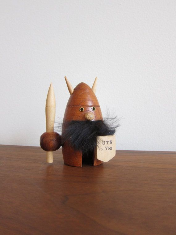 Teak Viking Nutcracker Danish Modern