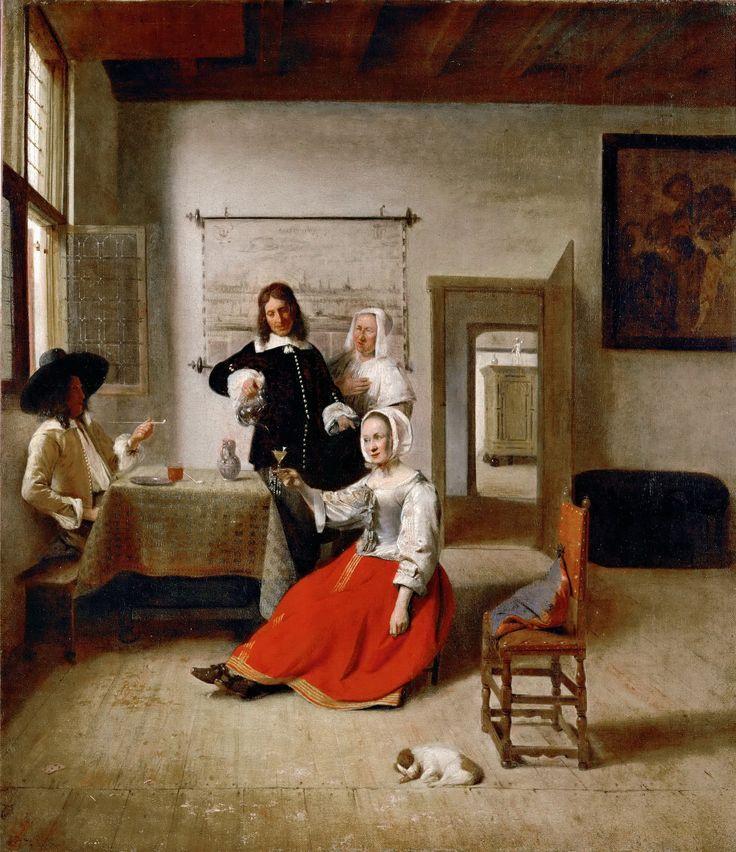 https://flic.kr/p/oACNWs | Pieter de Hooch -The Drinker [1658] | [Musée du Louvre, Paris - Oil on canvas, 60 x 69 cm]