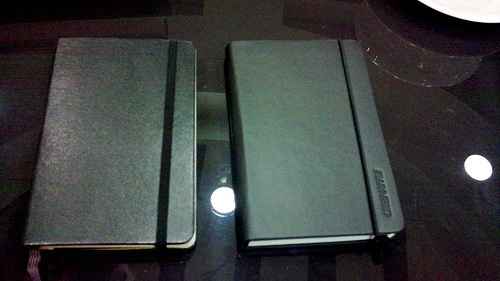 A 2009 post by Jessica Zafra comparing Green Apple journals and Moleskines.: Jessicazafra Categori