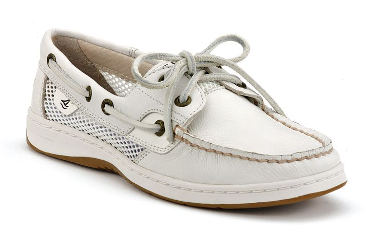 Sperry Top-Sider - Women's Bluefish 2-Eye Boat Shoe with mesh sides.  Very practical.