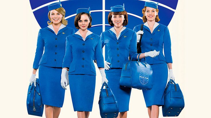 Pan Am Stewardess costume
