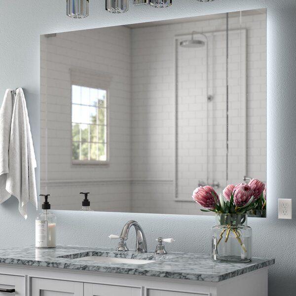 Moumoune Backlit Bathroom Vanity Mirror Backlit Bathroom Mirror Vanity Wall Mirror Mirror
