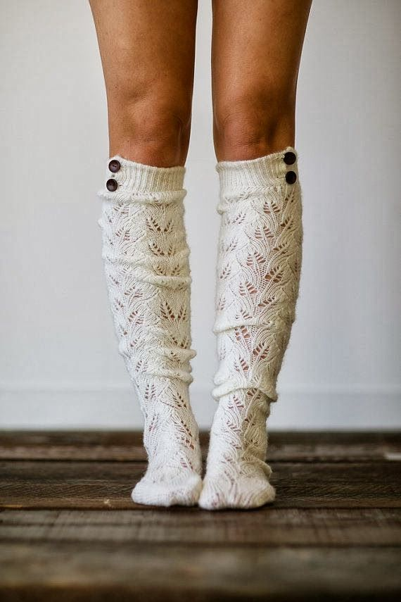 Adorable cute knitted boot socks fashion: