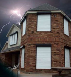 Rollac Rolling Shutters   Window Protection Shutters   Western New York