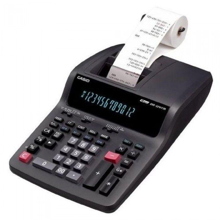Calculator Printing Casio DR-120TM