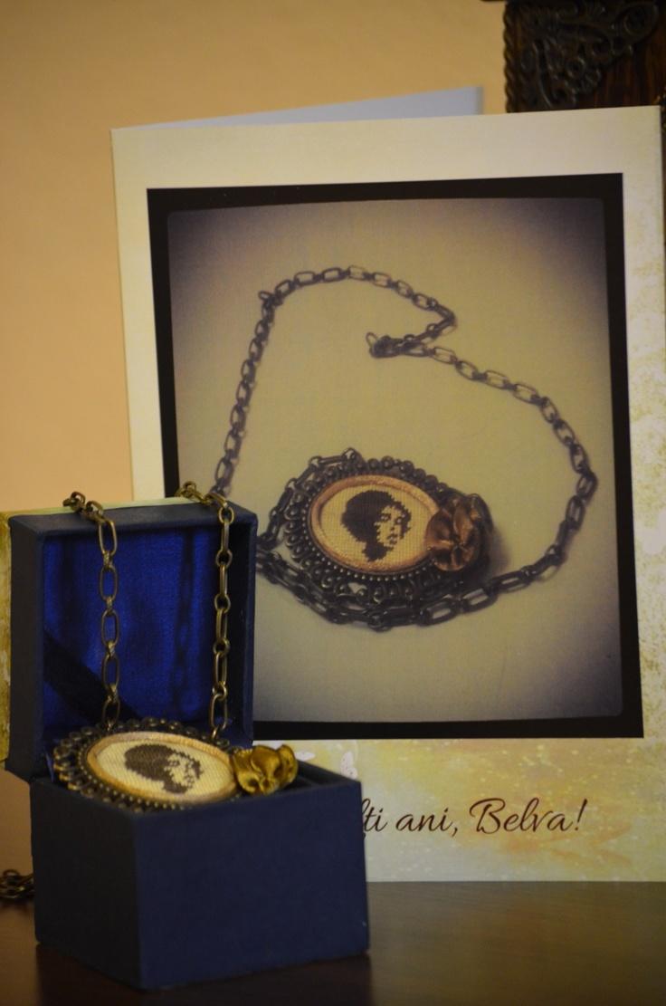 A wonderful personalised gift - card + handmade items!