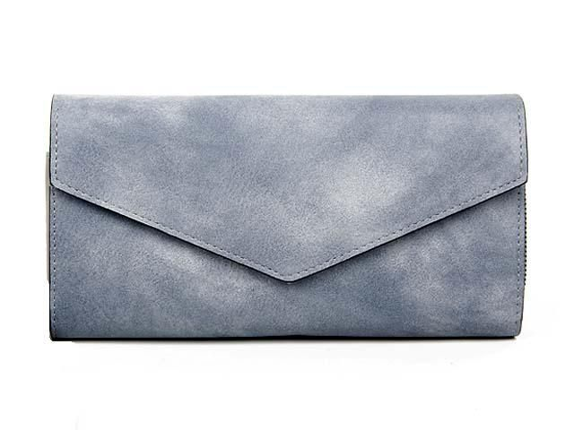 GREY LEATHER EFFECT MULTI-COMPARTMENT PURSE WITH WRIST STRAP, £8.99 - A-SHU.CO.UK
