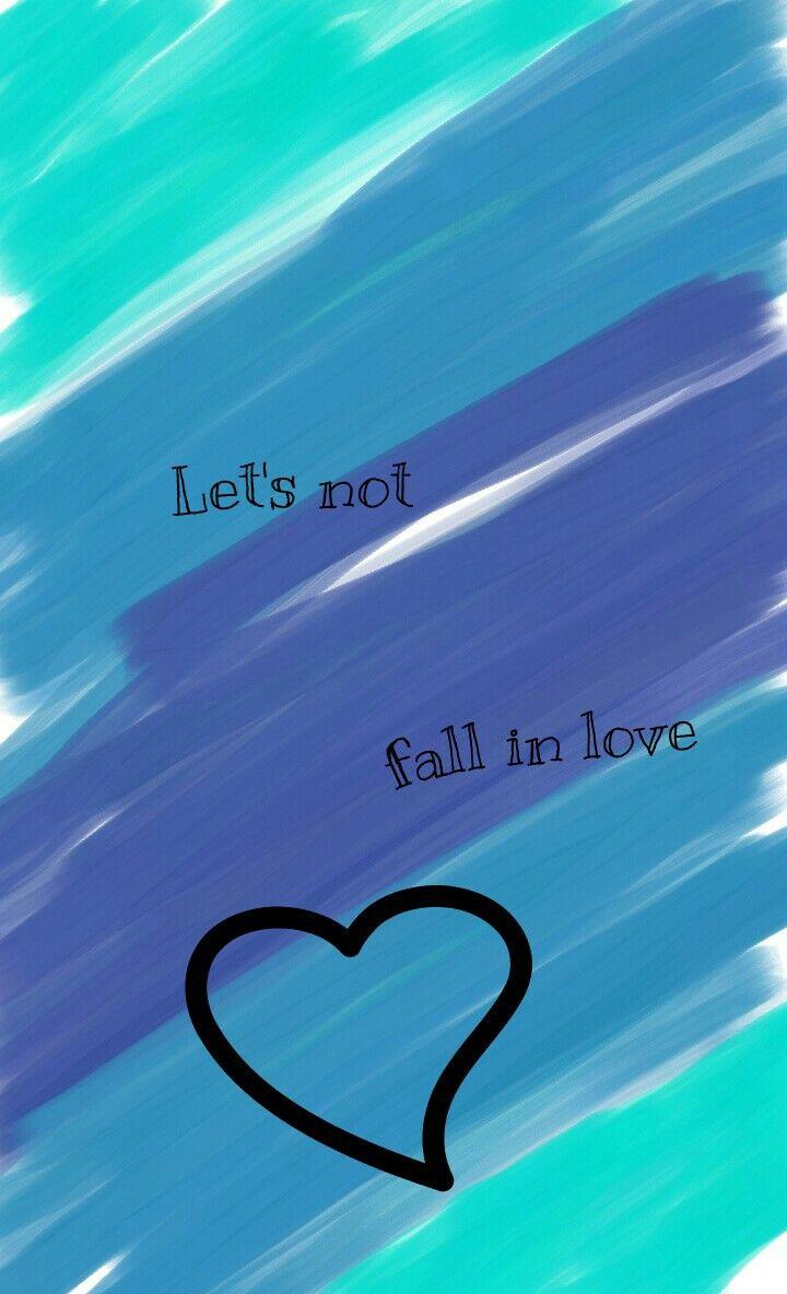 Eu que fiz :) Trecho da música: Let's not fall in love - BIGBANG