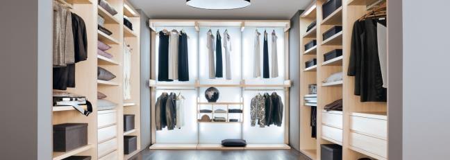 Nella tua casa hai la cabina armadio? #armadi #cabinearmadio www.ilparametro.com