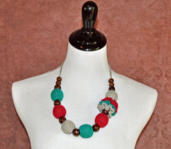 Teething Accessory Nursing Necklace Babywearing Gifts Emerald Green Wine Grey Flower Ready to Ship