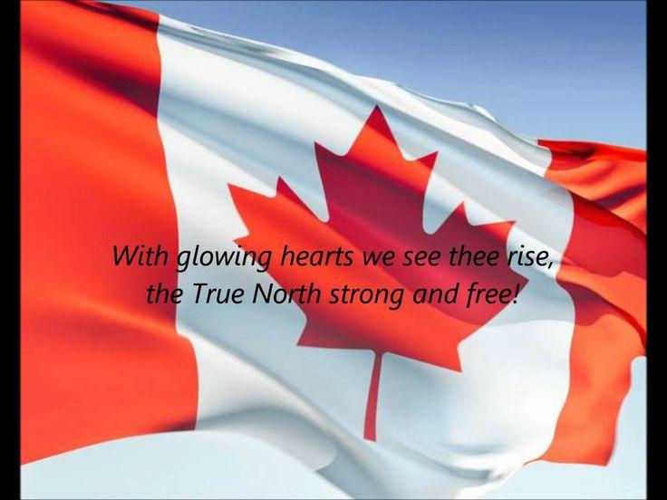 """Canadian National Anthem - """"Oh Canada"""" (FR/EN)"""