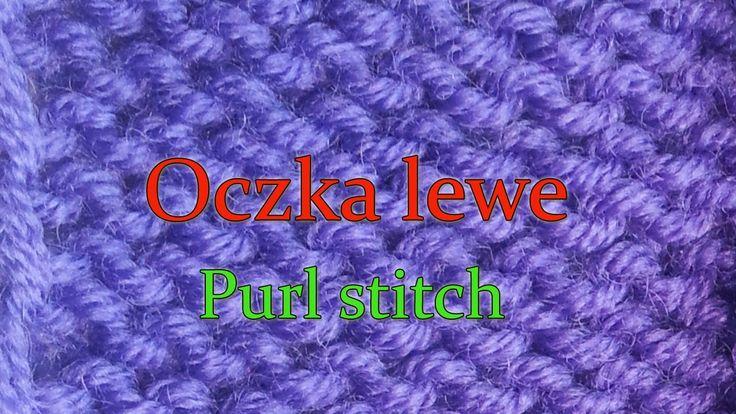 Jak robić lewe oczka na drutach?
