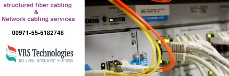 VRS Technologies offers structured cabling services in Dubai, we give structured fiber cabling, network cabling services in Dubai. Call us at 00971-55-5182748