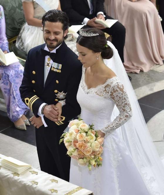 Schweden-Hochzeit: Prinz Carl Philip heiratet seine Sofia