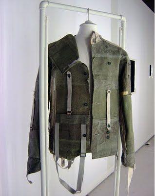 Deconstruction of garment