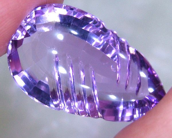 MUSEUM QUALITY CARVED-AMETERINE  STONE 20.40 CTS JO-6 fancy cut gemstones,gemstones, fashionable gemstones