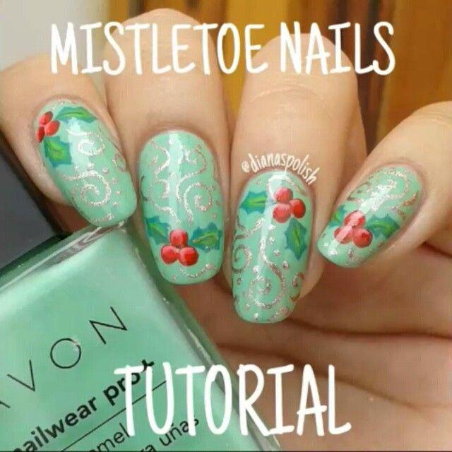 Mejores 67 imágenes de Nail Art: Winter/Holiday manicures en ...